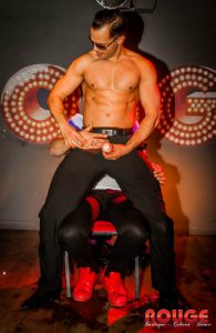 Stripper Kevin in club Rouge Eindhoven