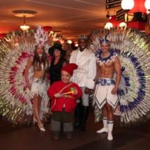 Brasil dance act in de efteling