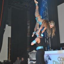 Arabische acrobatiek show