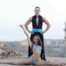 Arabische striptease show