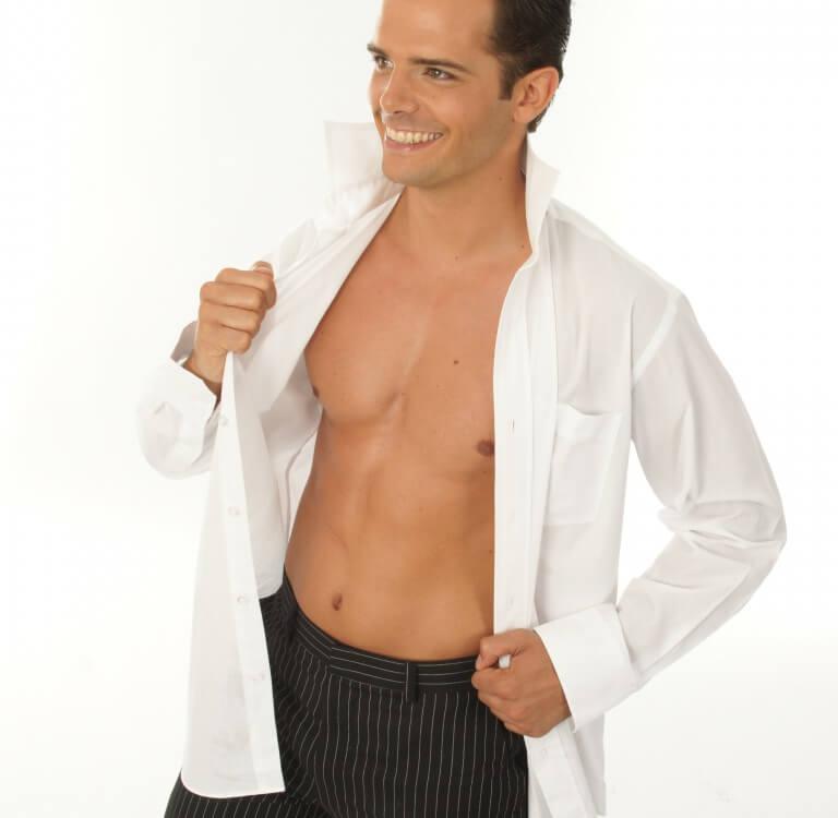 Stripper Kevin als gentleman