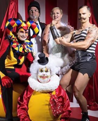 Strongman bij Alessi circus in Amsterdam