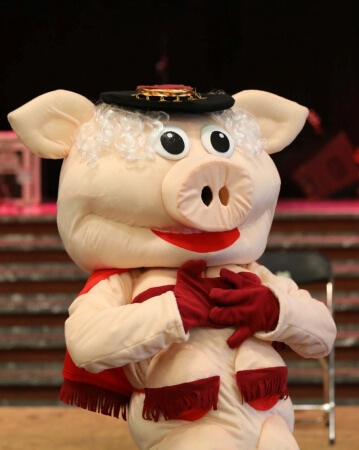Miss piggy stripshow